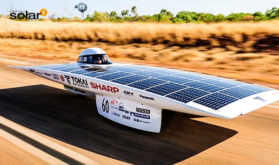 Carro movido a energia solar - Green Challenge Austrália - Vencedor 2009